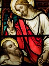 Jesus healing image, Jurand / Shutterstock.com