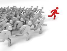 Leadership illustration, 3DProfi / Shutterstock.com