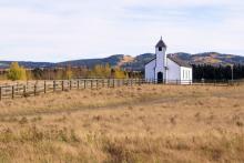 Small rural church, JeniFoto / Shutterstock.com