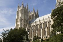 (Image of the Washington National Cathedral by Mesut Dogan/Shutterstock.)