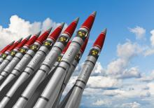 The Vatican has urged abolition of the world's 17,000 nuclear weapons. Image cou
