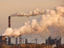 Chemical factory image,  Nickolay Khoroshkov / Shutterstock.com