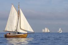 Three ships on a calm sea, © Nadezhda Bolotina / Shutterstock.com