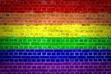 rainbow wall image by Antony McAulay  / Shutterstock