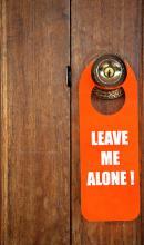 Door hanger, PondPond/ Shutterstock.com