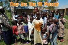Children in the Kenyan village of Asembo Bay are the 99 percent!