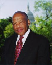 Rep. John Lewis. Photo courtesy RNS/the Office of Rep. John Lewis.
