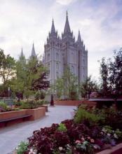 The Salt Lake Temple in Salt Lake City, Utah. Image via RNS.