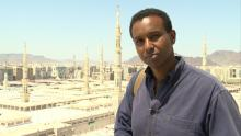 "Rageh Omaar retraces the footsteps of the prophet in PBS' ""Life of Muhammad."" Ph"