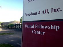 United Fellowship Center in suburban Madison, Tenn. Image via Heidi Hall/RNS.
