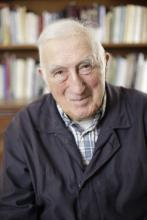 Jean Vanier. Photo via Templeton Prize / John Morrison / RNS