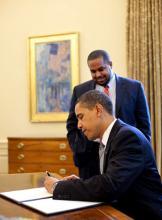RNS photo courtesy Pete Souza/The White House