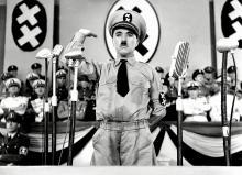 Charlie Chaplin asThe Great Dictator