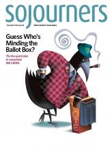 Sojourners, November 2016