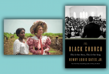 "The cover of ""Black Church"" features a photo of the inside of a black church during the Civil Rights movement. A scene from The Long Song depicts a 19th century British woman with an enslaved young Jamaican woman."
