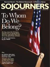 Sojourners Magazine January 2008