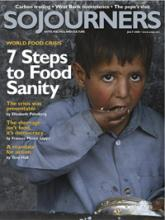 Sojourners Magazine July 2008