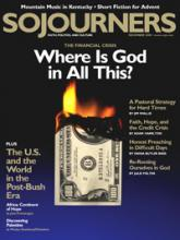 Sojourners Magazine December 2008