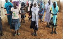 Children of Gendrassa Camp