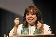 Bishop Minerva Carcaño