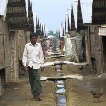 Rohingya camps near the capital Sittwe in Arakan state, Bangladesh. Photo: RNS c