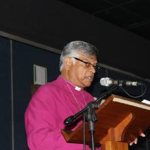Bishop Rubin Phillip. Photo via Diakonia Council of Churches on Facebook.