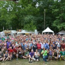 Wild Goose Festival participants