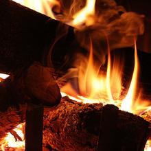Fire. Image via Wylio, http://bit.ly/xaE5ms.