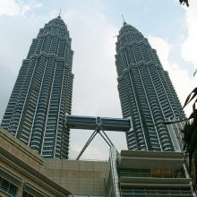 Petronas Towers, Kuala Lumpur, Malaysia. Photo courtesy RNS/Auswandern Malaysia/