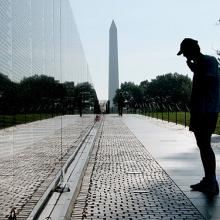 Vietnam War Memorial, Washington, D.C. Image via Wiki Commons.