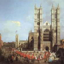 Westminster Abbey 1749. Via Wiki Commons http://bit.ly/tdg9GR