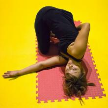 """Yoga."" Image by Earl McGehee via Wylio http://bit.ly/xzjw0R."