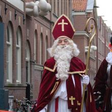 "Sinterklaas and Zwarte Piet (aka ""Black Pete"") in a holiday parade in Holland, 2"