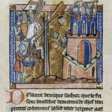 Crusaders. Image via RNS/anonymous master/Wikimedia Commons