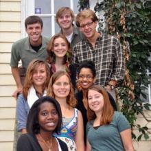 Sojourners' 2012-2013 interns.
