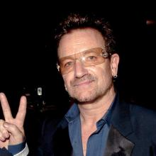 Bono in London,  Oct. 25 2012. (Photo by Niki Nikolova/FilmMagic)
