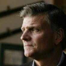 Franklin Graham in his home office, Boone, N.C. 2003. Photo by David Hume Kenner