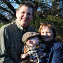 The Rev. Mitchell Hescox, pictured here with his family. Photo via Evangelical E