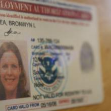 Bronwyn Lea want to trade her visa for a permanent residency green card.
