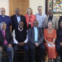 Key members of the SA Kairos Committee with two senior ANC representatives. (Pho