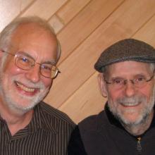 Phil Haslanger (l), and his friend Mike. Photo courtesy Phil Haslanger