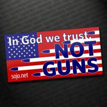 Sojourners' bumper sticker