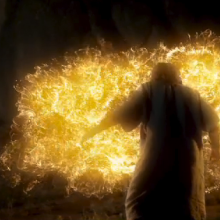 The Burning Bush episode of 'The Bible,' series, The History Channel