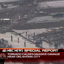 NBC News report of Oklahoma tornado damage