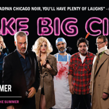 Big Lights Big City promotional poster