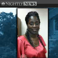 Screenshot from NBCNews of Antoinette Tuff and Michael Brandon Hill