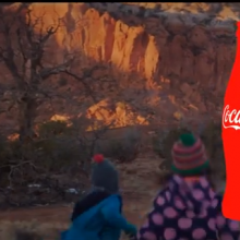 Coca-Cola Super Bowl commercial screenshot
