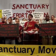 Image via New Sanctuary Movement video