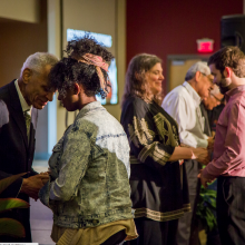 Elders time of blessing, The Summit. Image via Sojourners.