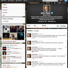 John Piper's Twitter page